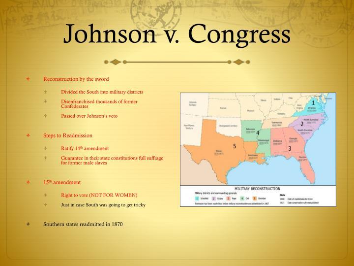 Johnson v. Congress
