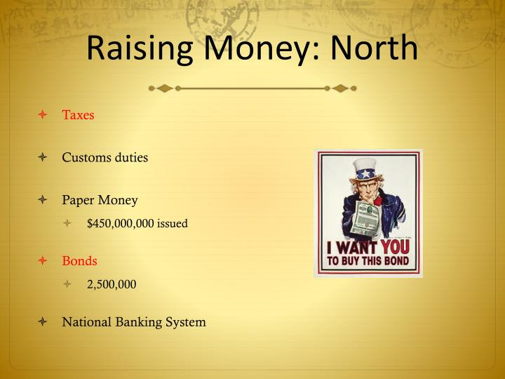 Raising Money: North
