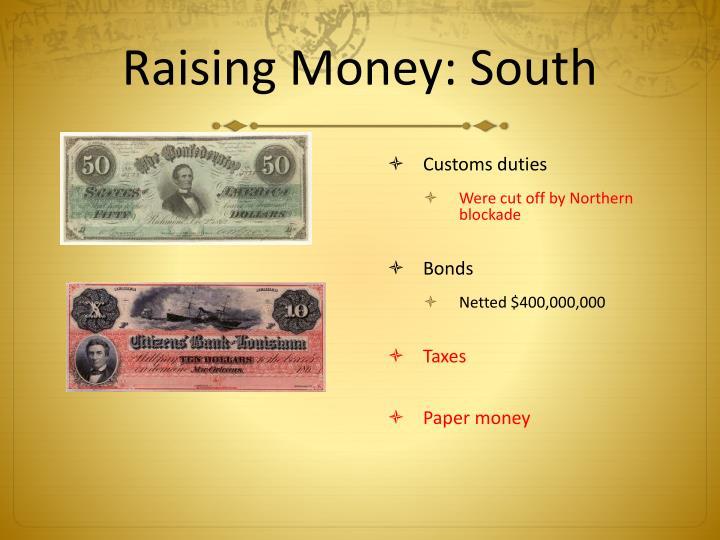 Raising Money: South