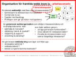 organisation f r framtida webb inom lu arbetsscenario