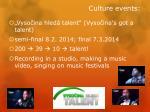 culture events1