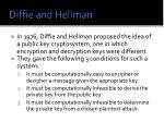 diffie and hellman