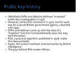 public key history