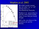 hopkins et al 2005