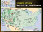 conservation national parks and forests