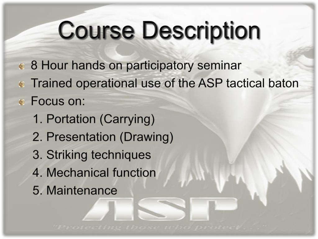 baton asp certification course abc program ppt presentation powerpoint