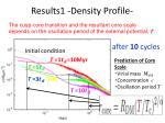 results1 density profile