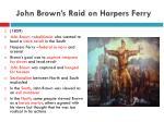 john brown s raid on harpers ferry