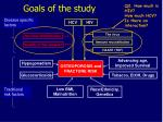 goals of the study1
