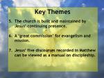 key themes6