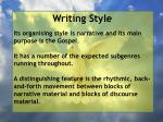 writing style1