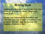 writing style9