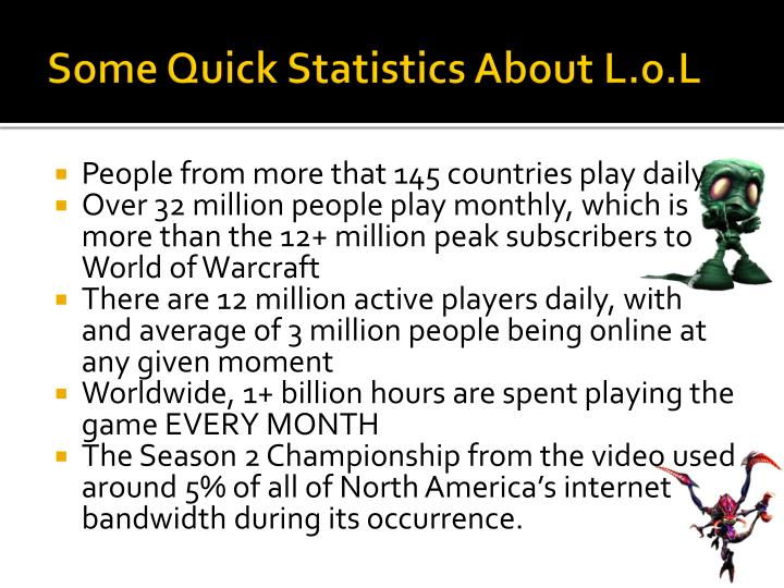 Some Quick Statistics About