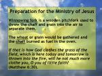 preparation for the ministry of jesus103