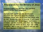 preparation for the ministry of jesus104