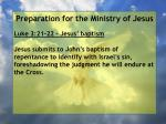 preparation for the ministry of jesus117