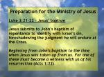 preparation for the ministry of jesus118