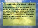 preparation for the ministry of jesus126
