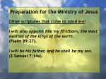preparation for the ministry of jesus138