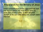 preparation for the ministry of jesus155