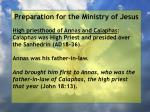 preparation for the ministry of jesus18