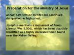 preparation for the ministry of jesus23