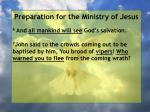 preparation for the ministry of jesus60