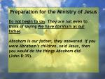 preparation for the ministry of jesus66