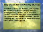 preparation for the ministry of jesus88