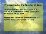 preparation for the ministry of jesus9