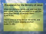 preparation for the ministry of jesus92