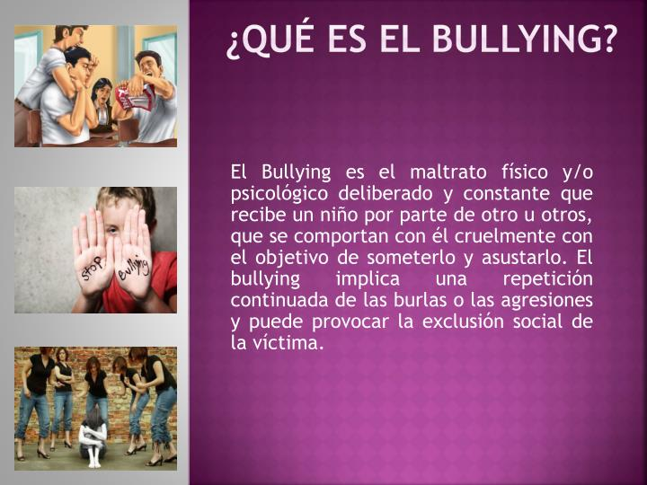 qu es el bullying n.