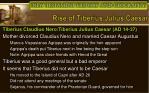 rise of tiberius julius caesar