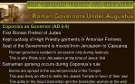 roman governors under augustus