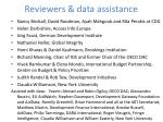 reviewers data assistance