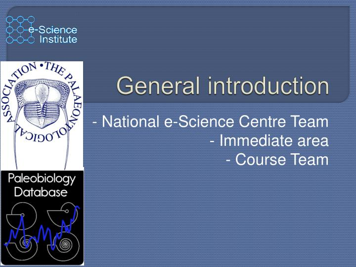 general introduction n.