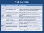 predictor maps1