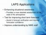 laps applications