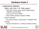 hardware costs 2
