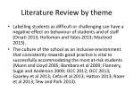 literature review by theme1