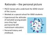 rationale the personal picture