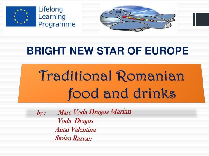 traditional romanian food and drinks n.