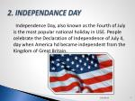 2 independance day