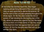 acts 13 48 52