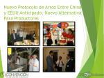 nuevo protocolo de arroz entre china y eeuu anticipado nuevo alternativa para productores
