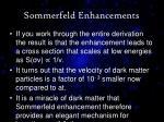 sommerfeld enhancements2