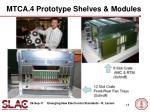 mtca 4 prototype shelves modules
