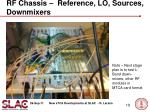 rf chassis reference lo sources downmixers