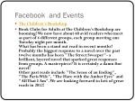 facebook and events