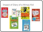 impact of diary of a wimpy kid